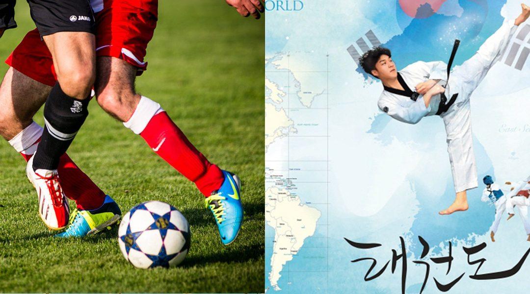 Deportes nacionales: Fútbol y Tae Kwon Do
